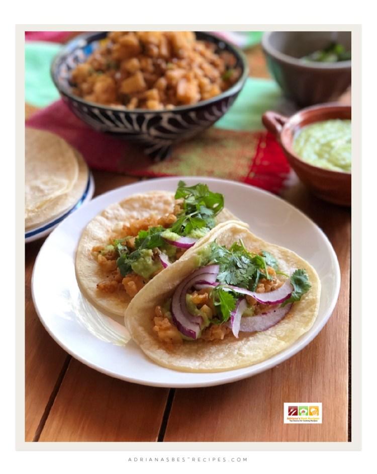 Listos para el martes de tacos al estilo vegetariano