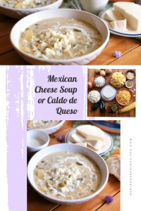 Mexican Cheese Soup with Real California Milk