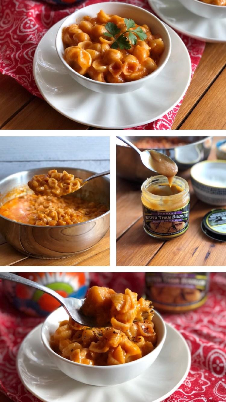 Deliciosa pasta de conchitas lista en minutos y usando alimentos de la canasta básica