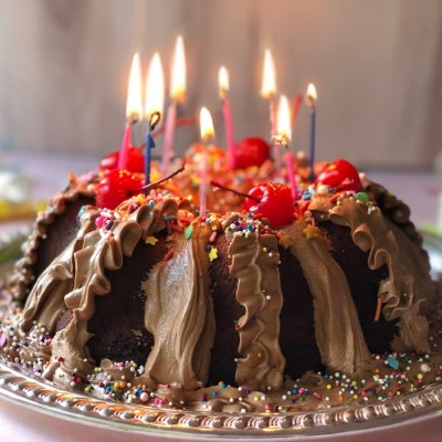 Birthday Chocolate Cake Using Pantry Staples