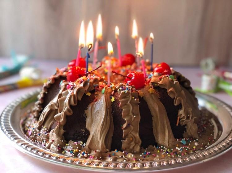 Birthday Chocolate Cake Using Pantry Staples