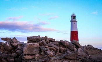 South England lighthouse