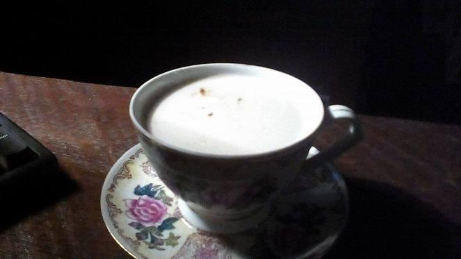 îngrijorarea cu aromă de cafea