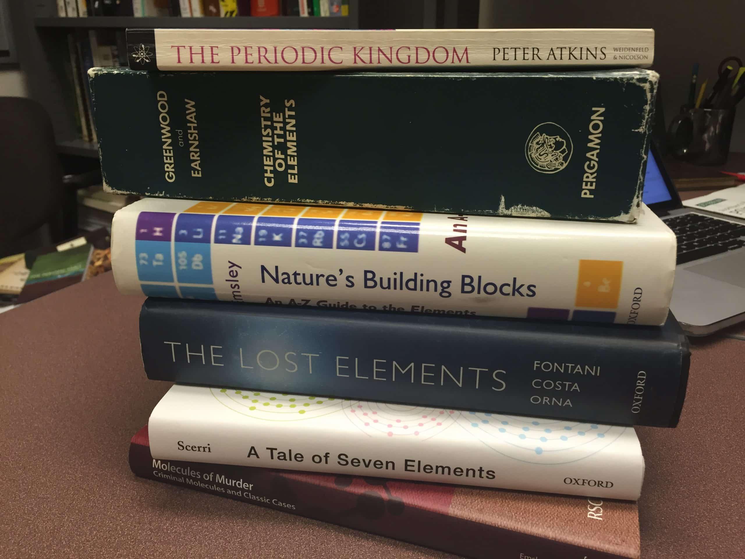 A Book List For Chemistry Teachers