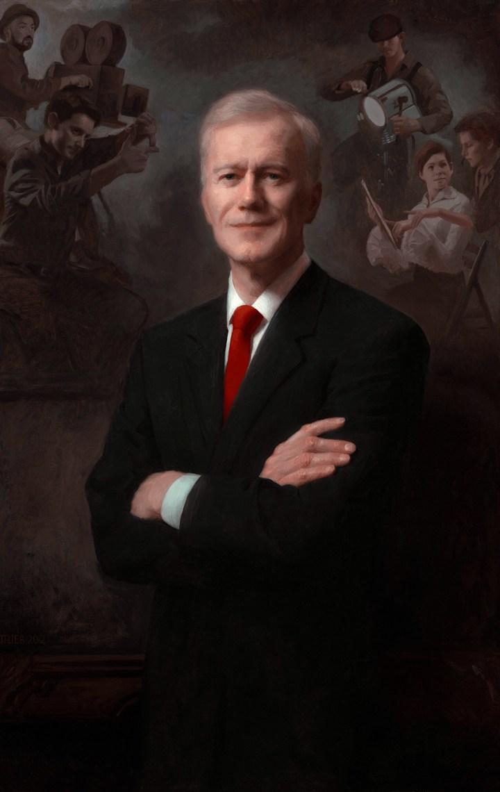 adrian gottlieb gallery - portrait of michael huffington