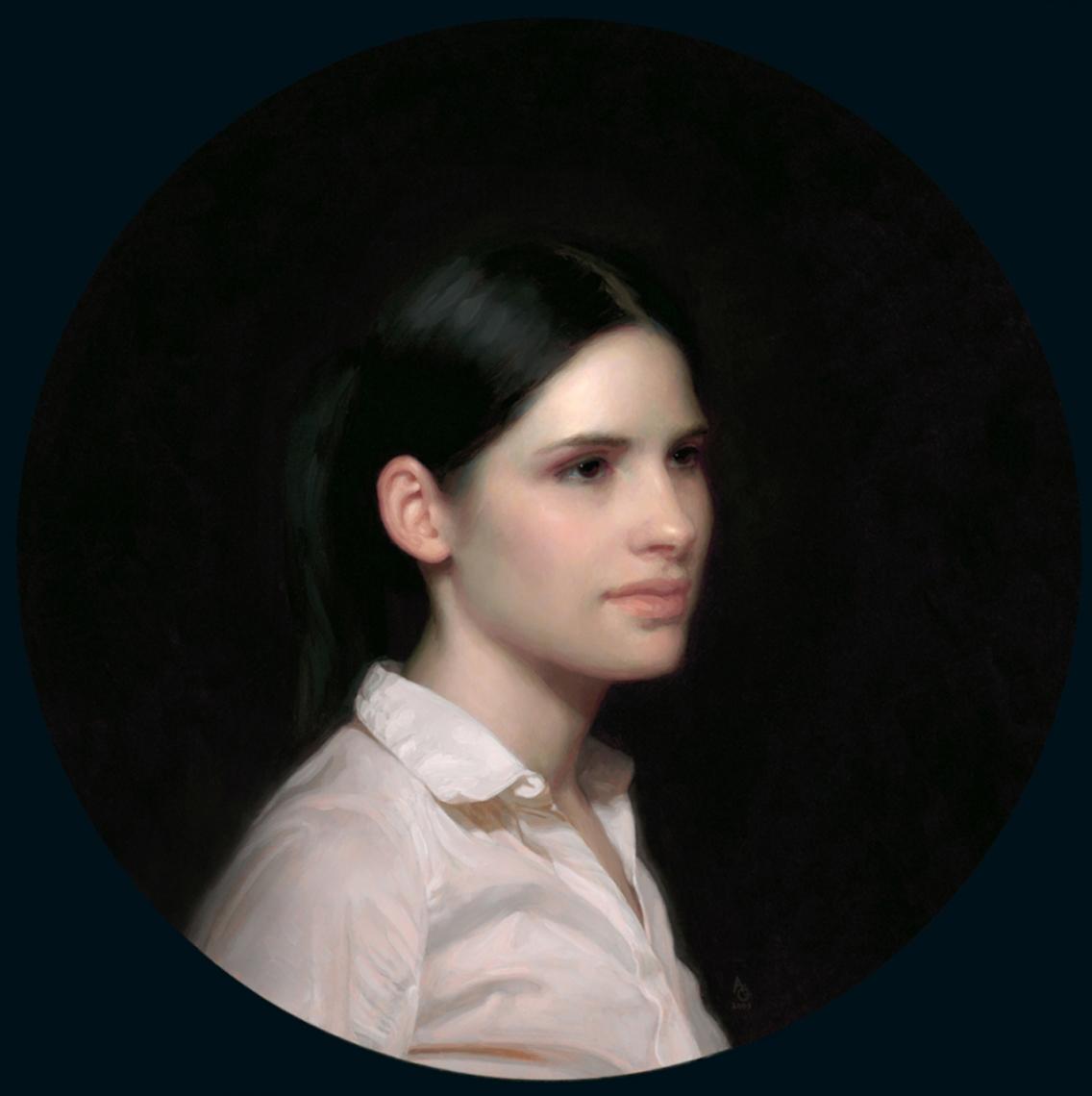 adrian gottlieb - portrait of sarah hilker