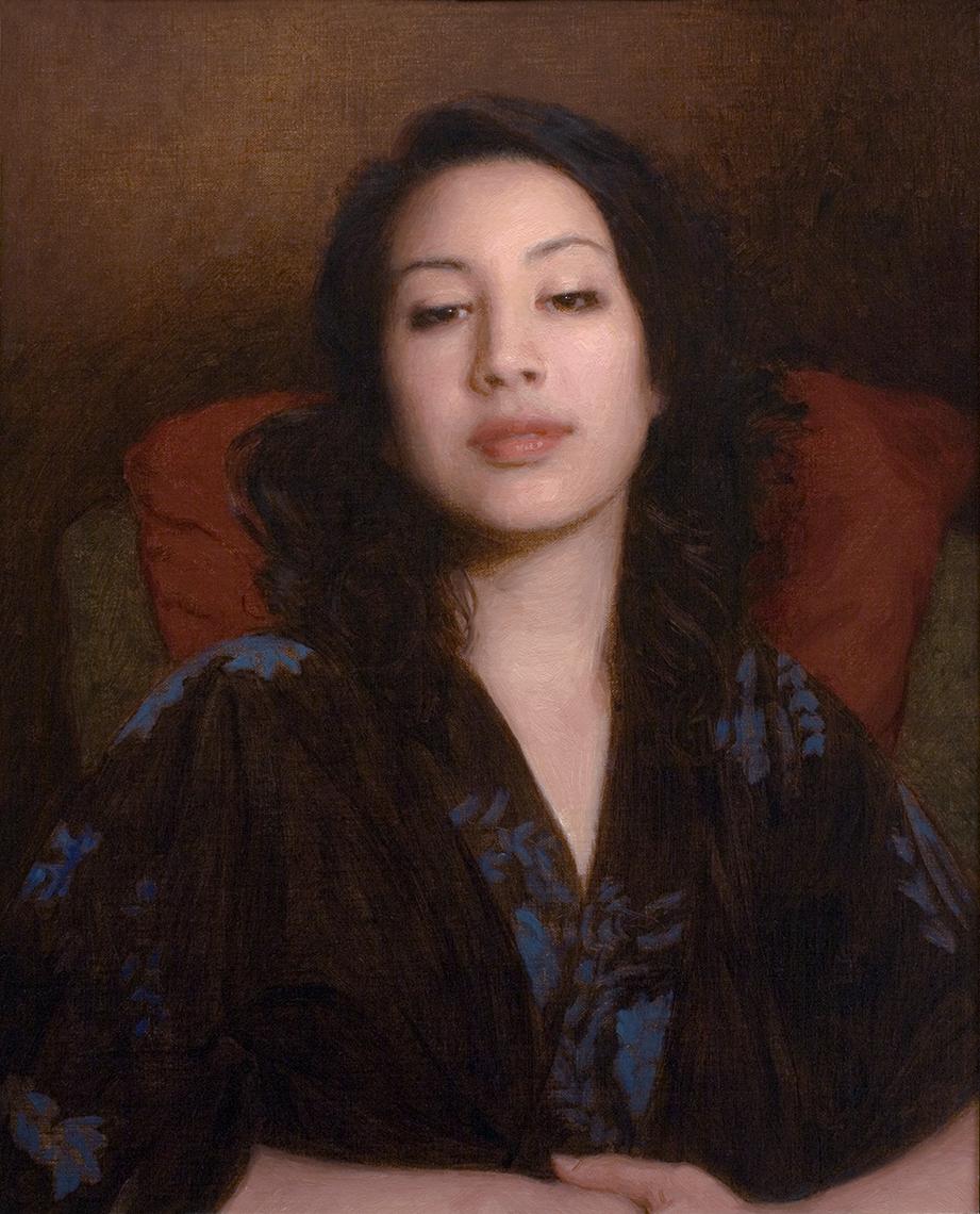 Adrian Gottlieb - Girl in a Kimono