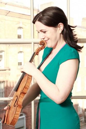 violinist Joanne Quigley