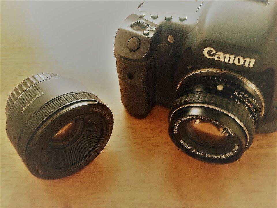 Old lens on modern Camera