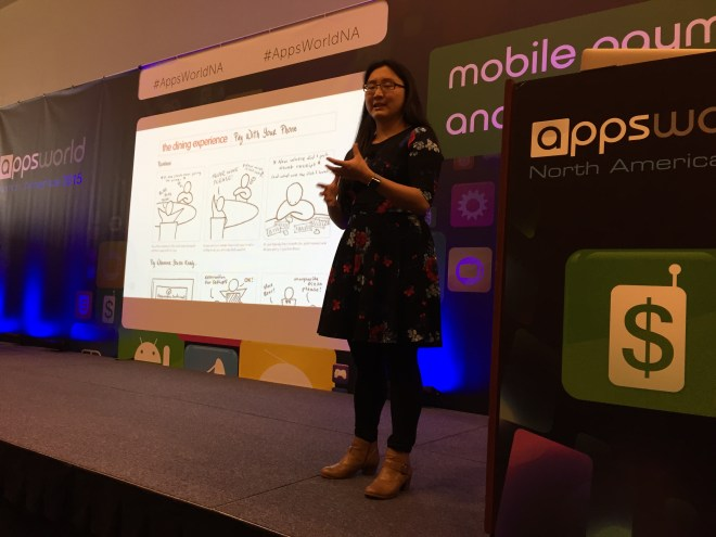 Alexa presenting an example of the sketches they put together initially when thinking through how users would typically pay a bill