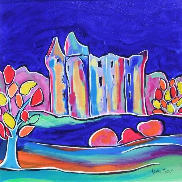 Monea Castle Blue