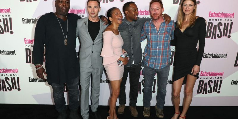 Photos: Comic Con Press Line and Party