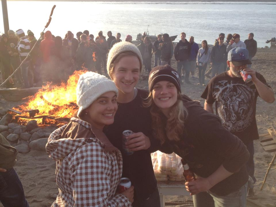 Beach bonfire!
