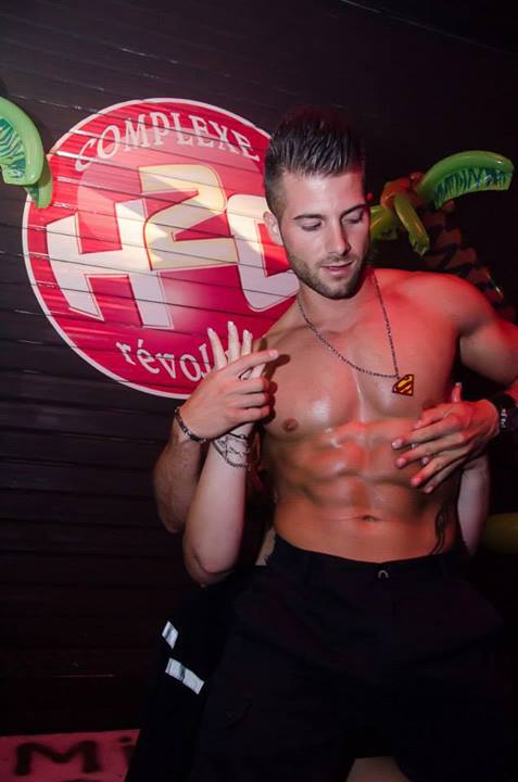 adriano chippendale h2o bar le duc