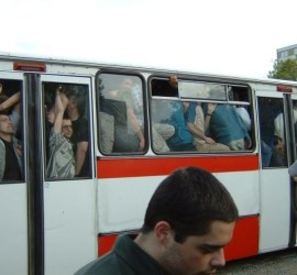 Autobus pieno