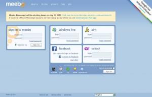 meebo messenger chiusura servizio