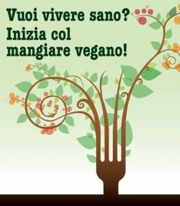 vivere sano mangiare vegano