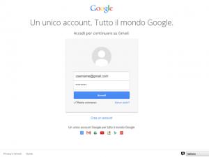 Gmail Username Password
