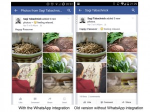 integrazione facebook whatsapp