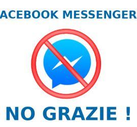 Facebook Messenger No Grazie