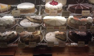 Cheesecake factory counter