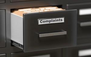 Complaints Filing Cabinet