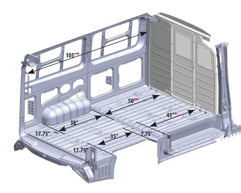 Mercedes Sprinter Cargo Van Interior Dimensions
