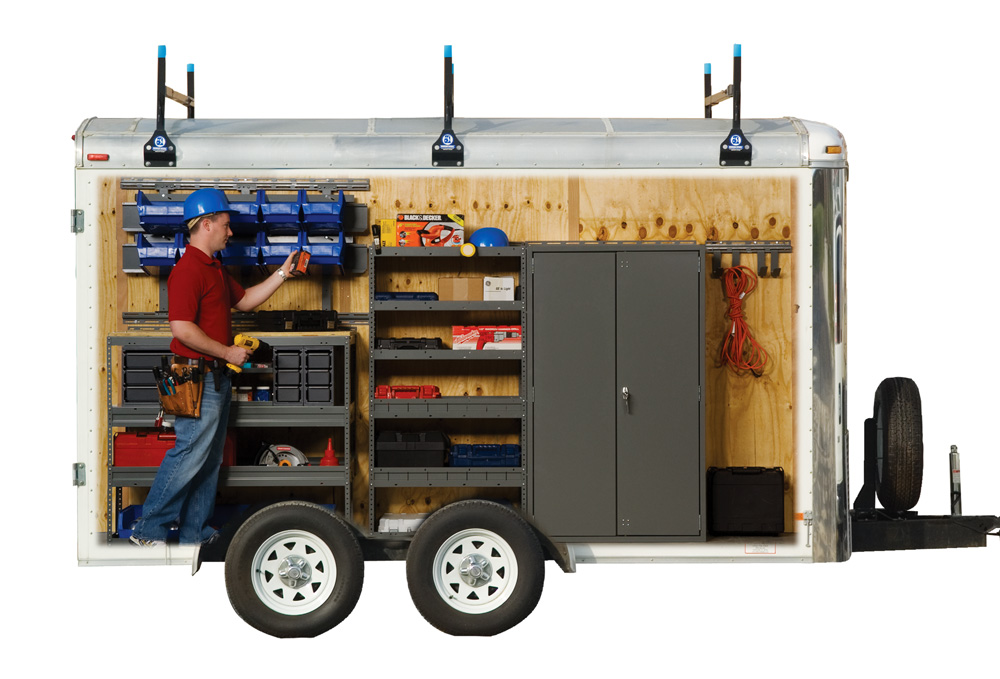 organize your business with a cargo trailer