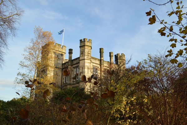 St Andrews Museum in autumn.
