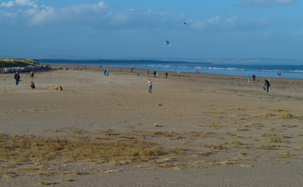 Kite Flying on the West Sands.