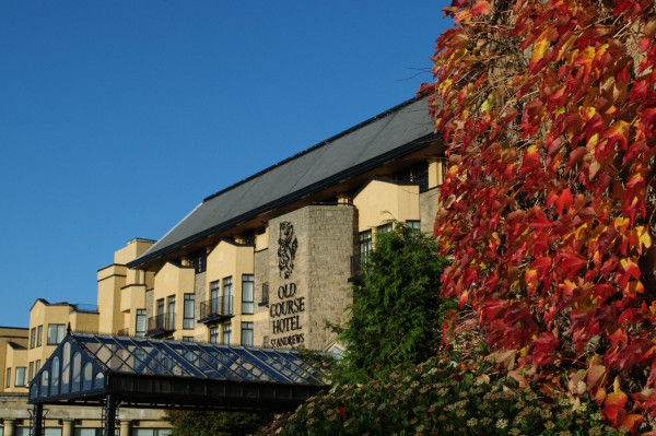 The Old Course Hotel in Autumn.