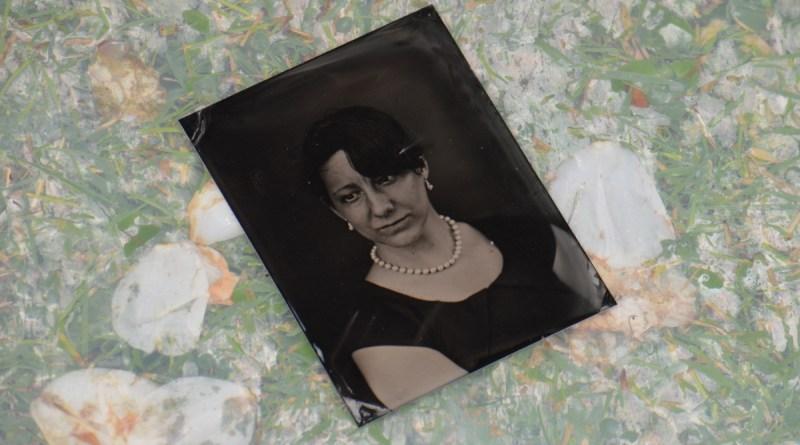 Processed tintype.