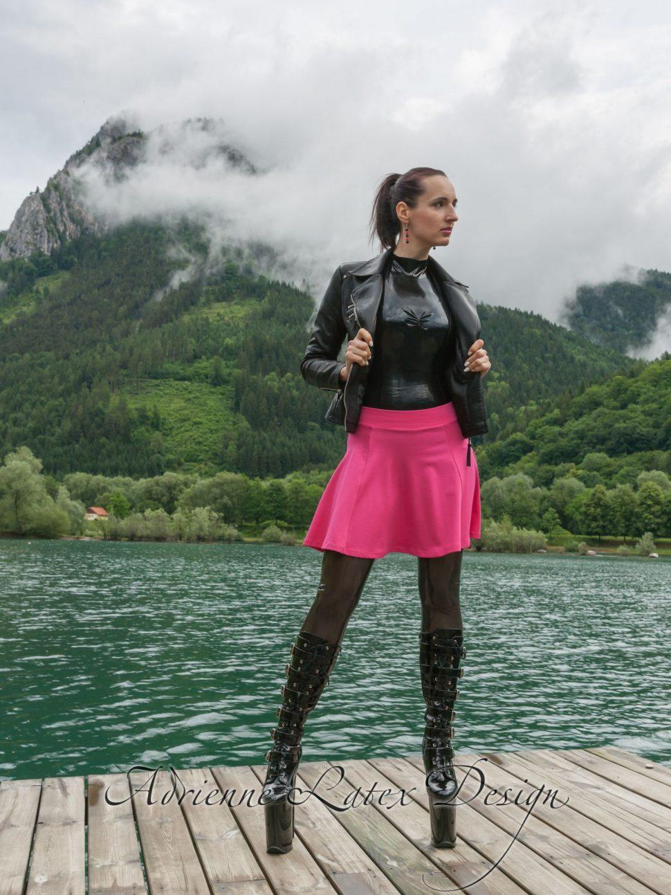 Gal 2 Adrienne Latex Design Custom Made Fetish Fashion
