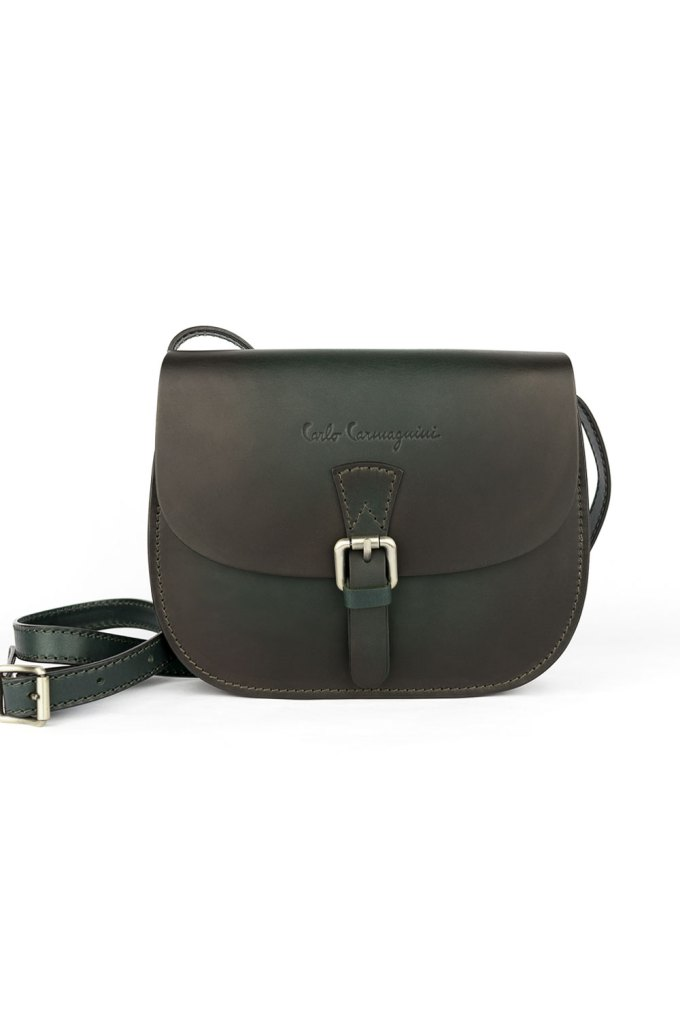 saddle bag, made in italy, carlo carmagnini