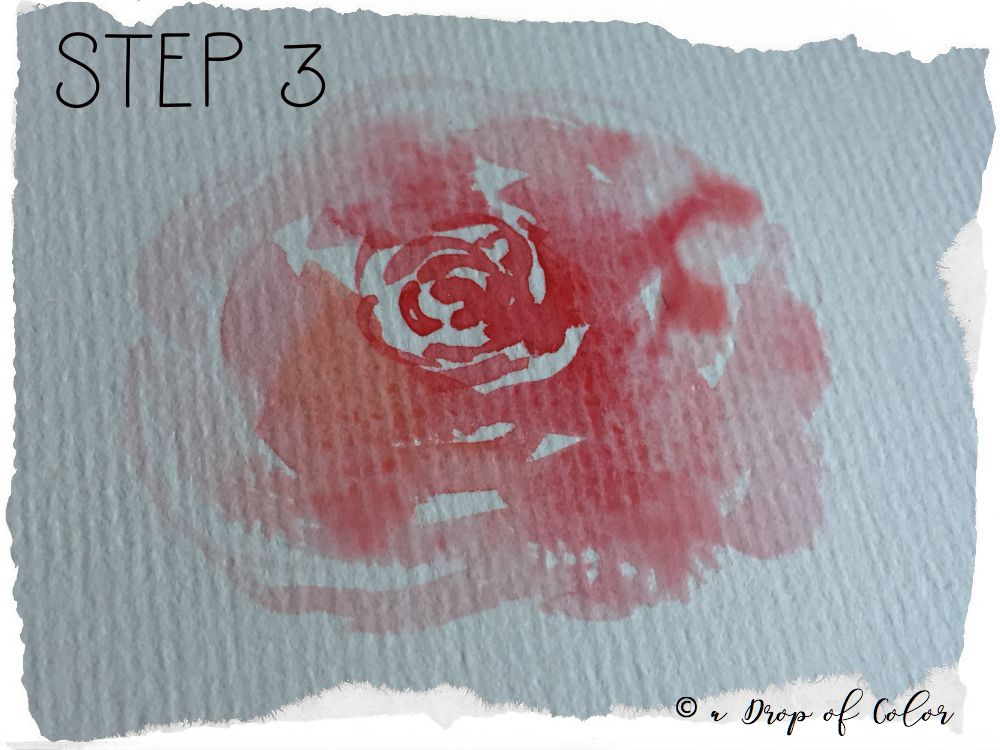 Come Realizzare Una Rosa Con L Acquerello Mini Tutorial In