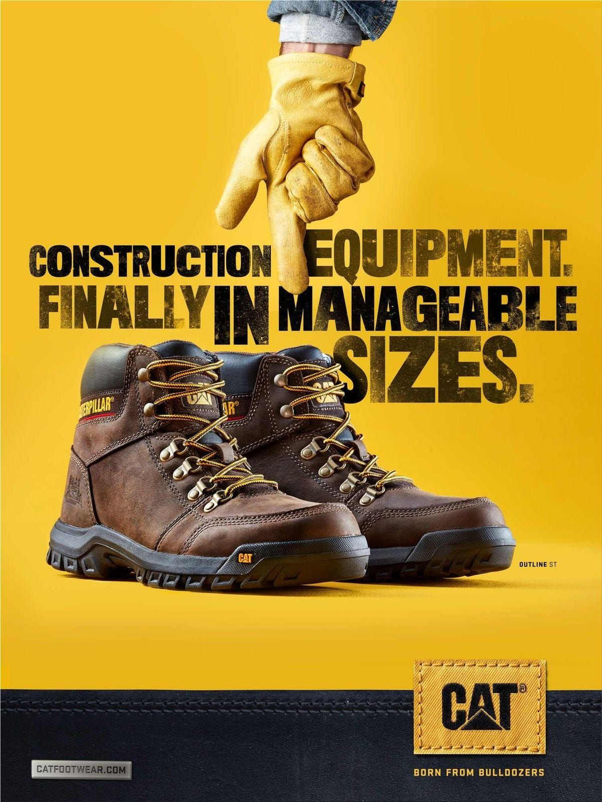 Cat Footwear Go Ahead Cat Footwear Ads
