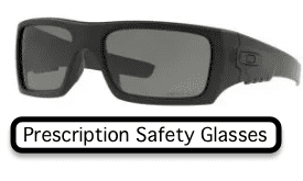ANSI Stamped Prescription Safety Glasses