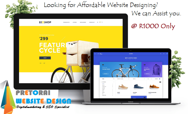 Looking for Website Designing in Pretoria