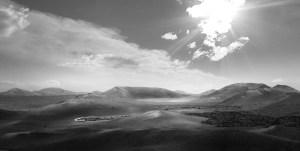 Black and white landscape Final Image