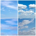 Examples of sky images in Morning skies download bundle