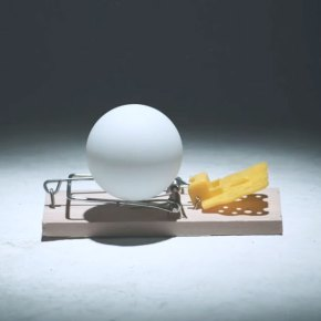 Chain Reaction of Ping Pong Ball Mouse Trap by Pepsi Max
