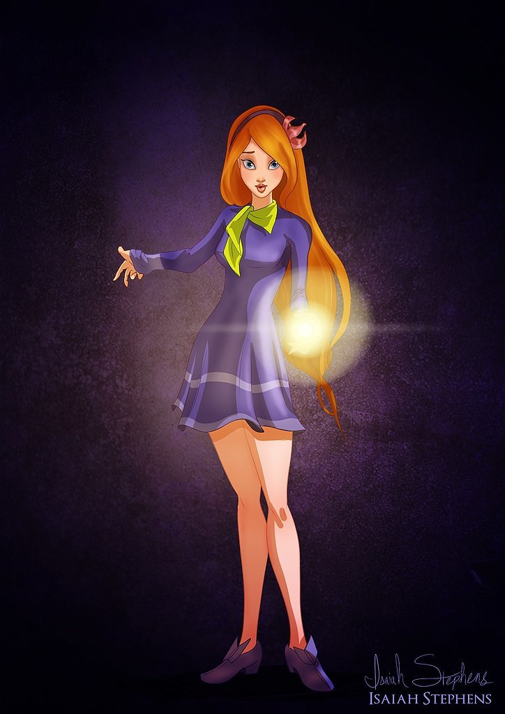 Giselle as Daphne Read