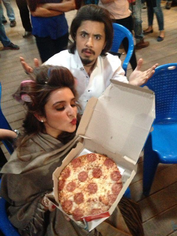 pareeniti chopra pizza love