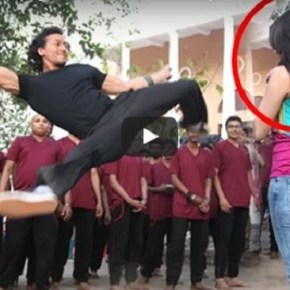 Tiger Shroff's Stunt Gone Wrong