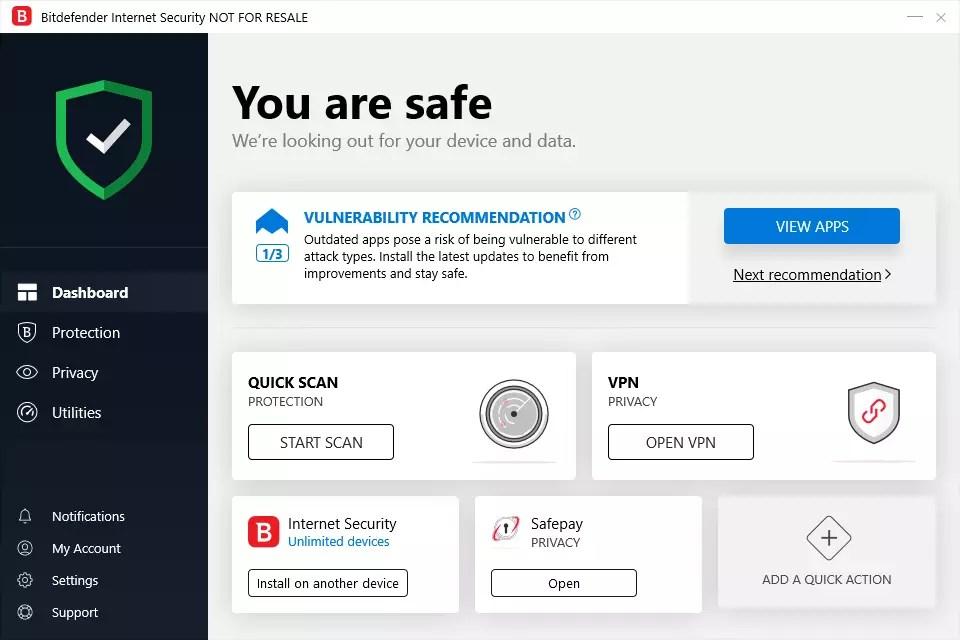 BitDefender Internet Security 23.0