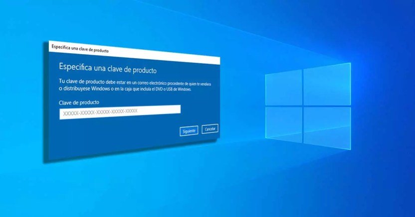 activar windows 10 clave