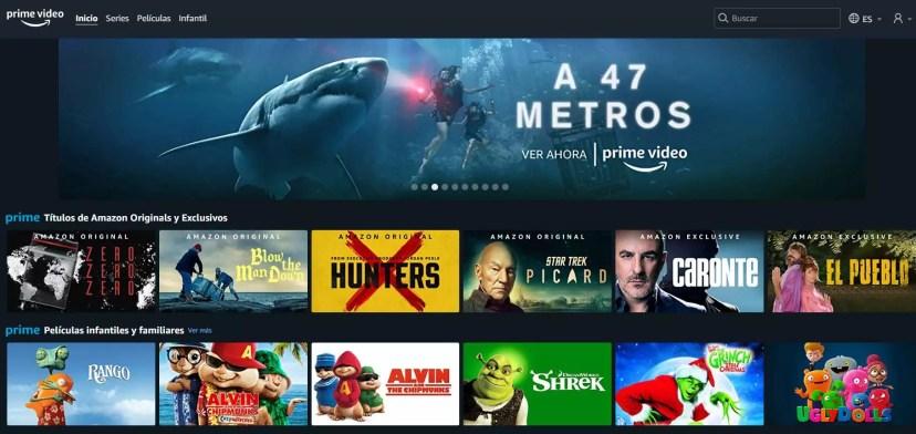 Alternativas a Netflix Prime Video