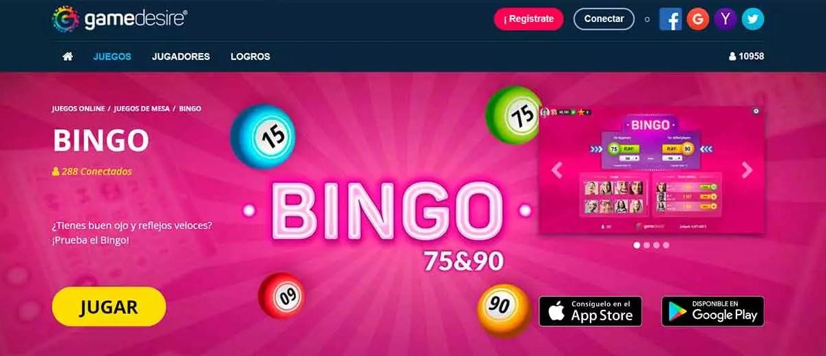 Gamedesire Bingo
