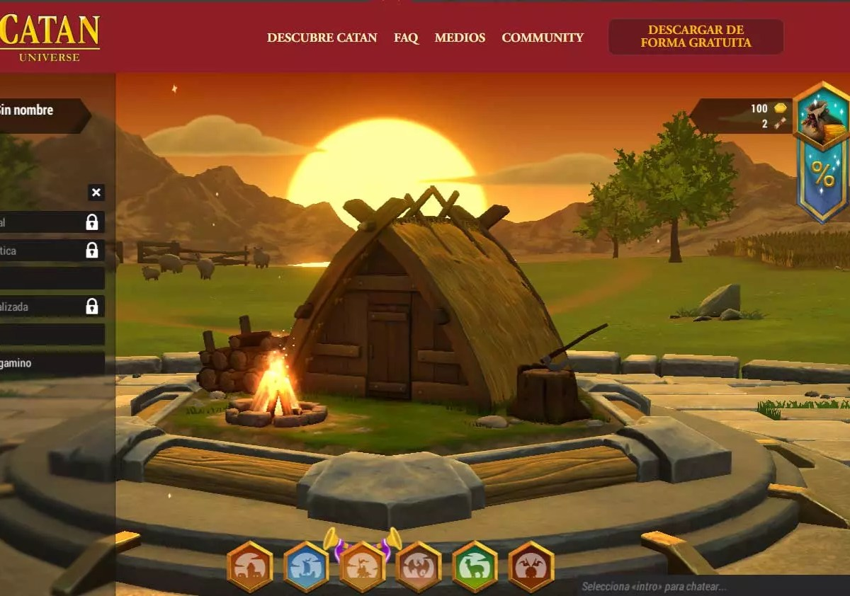 CATAN - Webs para juegos multijugador