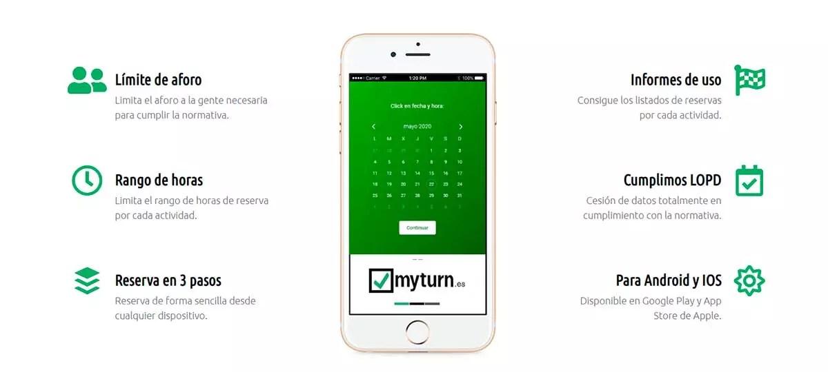 Myturn - Webs para reservar turnos